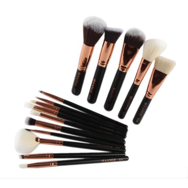 15pcs Cosmetic Makeup Brush Blusher Eye Shadow Brushes Set Kit