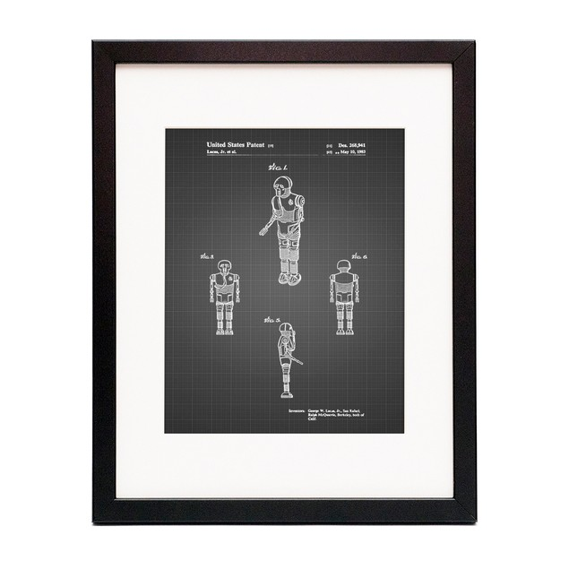 Star Wars Medical Droid Patent Poster