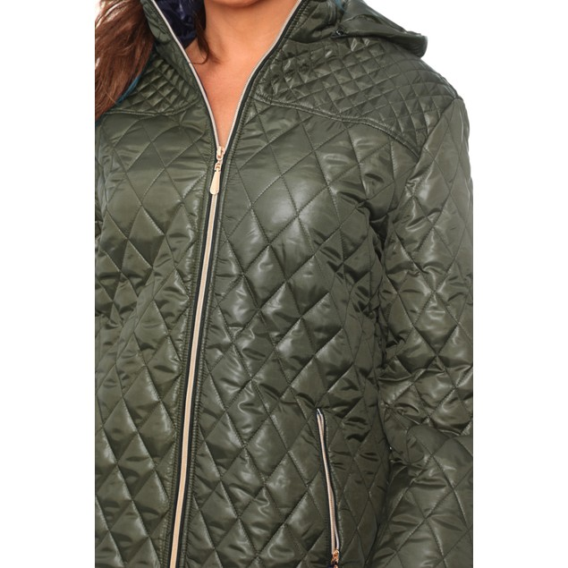 Puffer Coat - 6 Colors - Extended Sizes