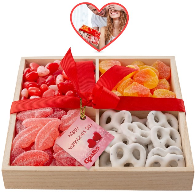 Goodies Gourmet Chocolate Four Section Tray