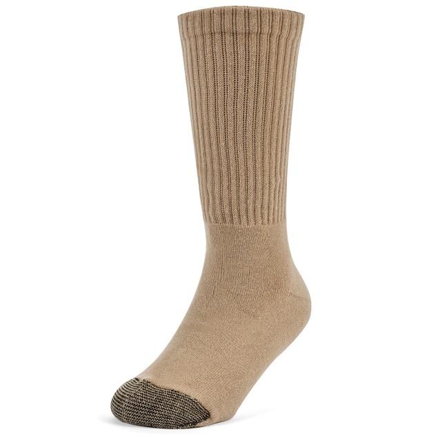 Galiva Boys' Cotton Extra Soft Crew Cushion Socks - 3 Pairs