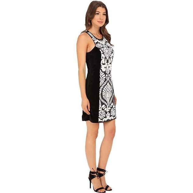 KAS New York Women's Ryanne Dress Black/White Dress MD