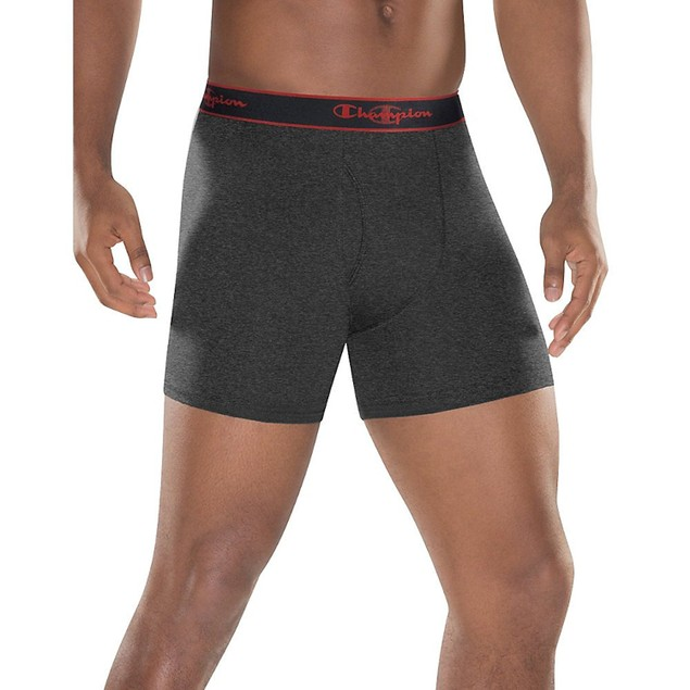 3-Pack Champion Men's Smart Temp Vapor Boxer Briefs