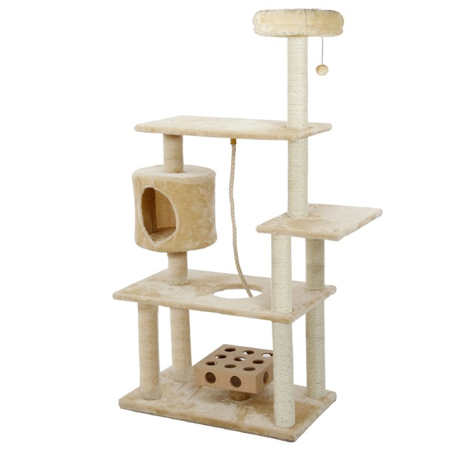 Cat Deluxe Playground with Cat IQ and Rope