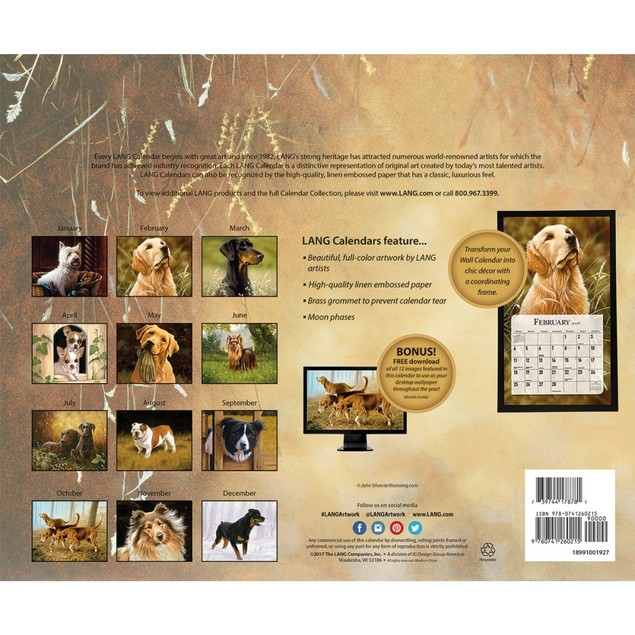 Love of Dogs Wall Calendar