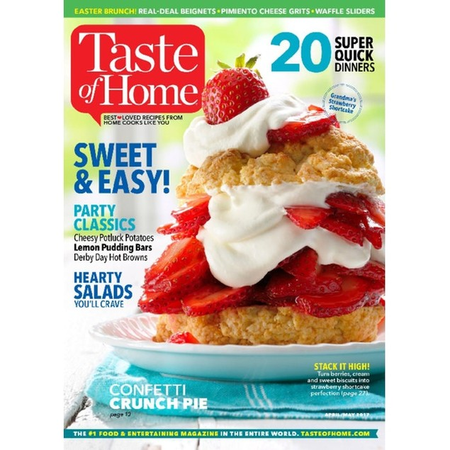 Taste of Home Magazine Subscription