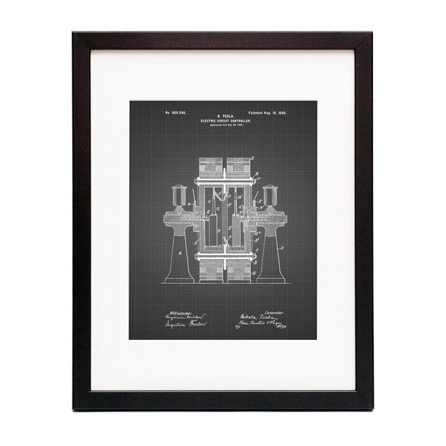Tesla Electric Circuit Controller Poster