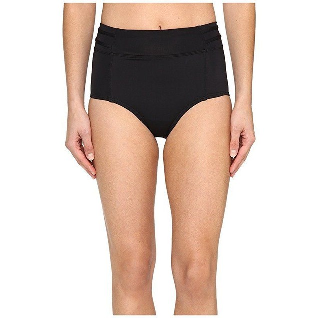 Lole Women's Matira Bottom Black 1 Swimsuit Bottoms SZ: L