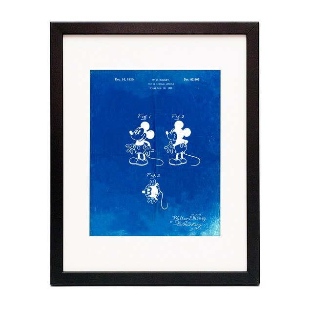 Mickey Mouse 1929 Patent Poster