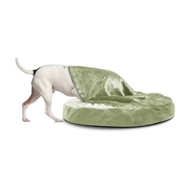 Microvelvet Snuggery Orthopedic Pet Bed