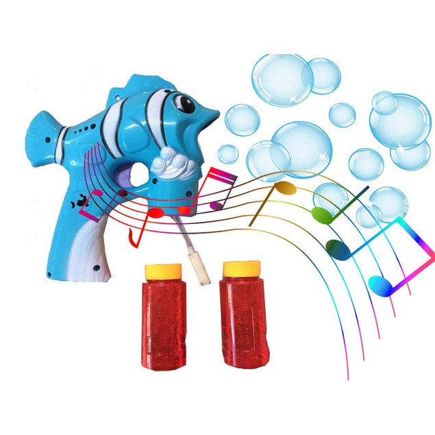 Bubble Blaster Gun with Lights & Music