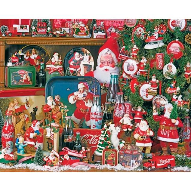 Coca Cola Christmas 1500 Piece Puzzle, 1,500 Piece Puzzles by Springbok