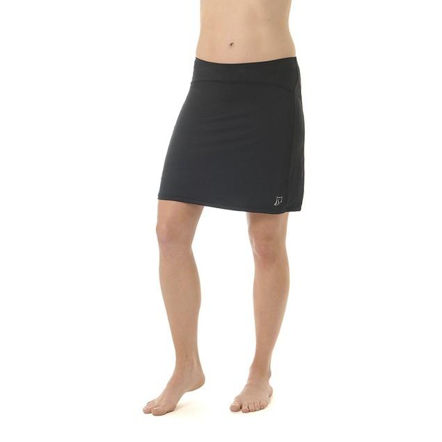 Skirt Sports Women's Happy Girl Skirt, Long Running Skirt with Shorts