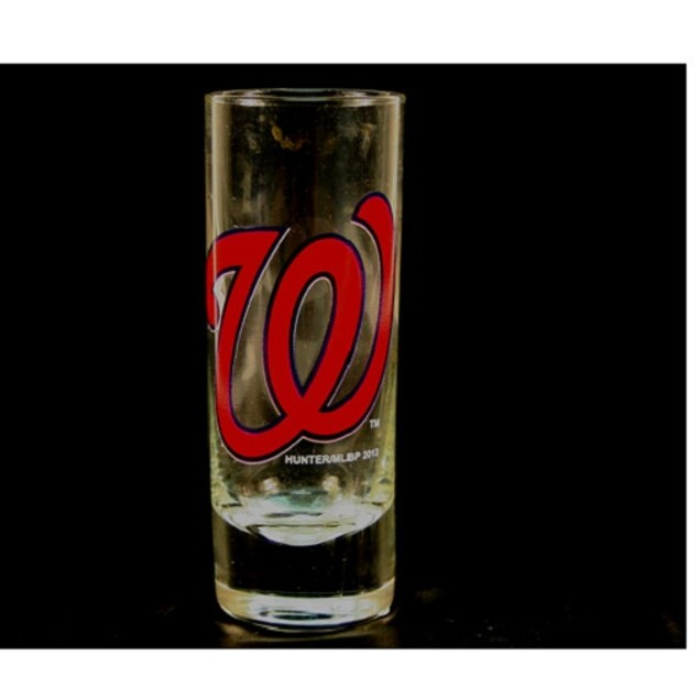 "Washington Nationals MLB ""Hype"" Tall Shot Glass"