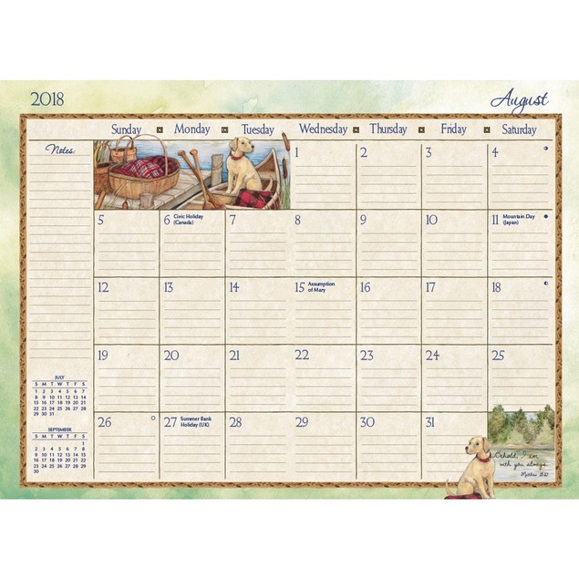Bountiful Blessings Monthly Pocket Planner, Lang Folk Art by Calendars