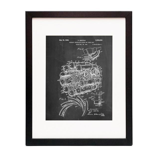Jet Engine Poster