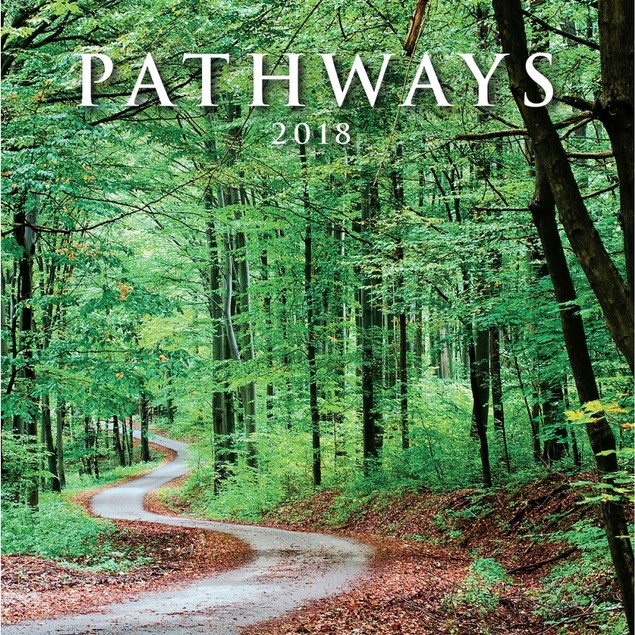 Pathways Mini Wall Calendar, More Inspiration by Avalanche Publishing