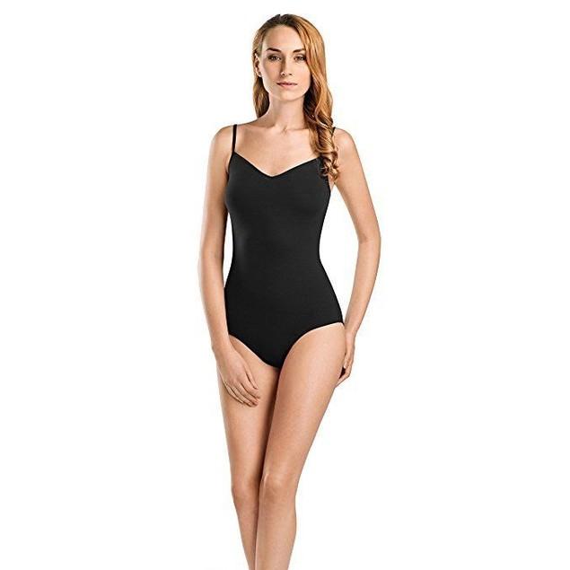 HANRO Women's Cotton Sensation Bodysuit 71400, Black, X-Large