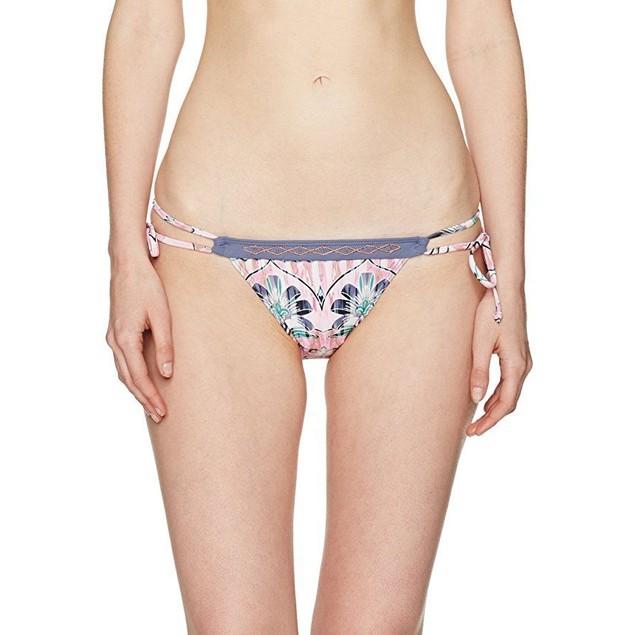 O'Neill Women's Starlis Tie Side Bikini Bottom, Multi Color, M