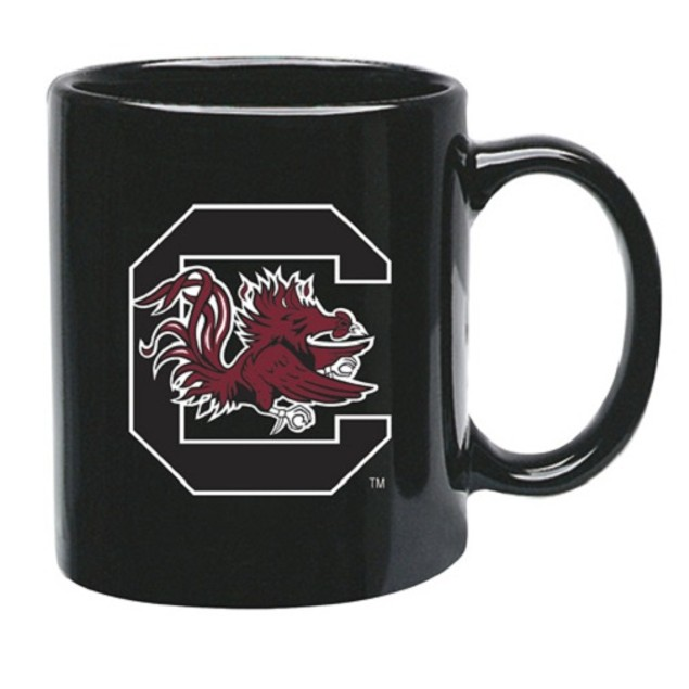 South Carolina Gamecocks NCAA Black Ceramic Coffee Mug