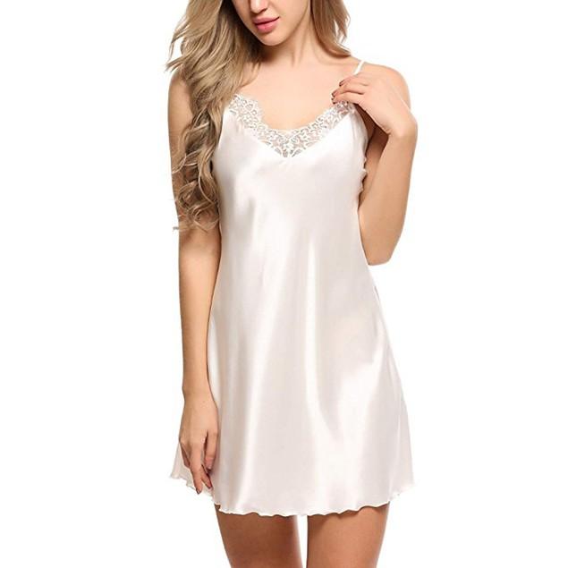 Women Lace Spice Lingerie G-String Strap Dress Sleepwear Underwear WH/S