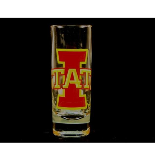 "Iowa State Cyclones NCAA ""Hype"" Tall Shot Glass"