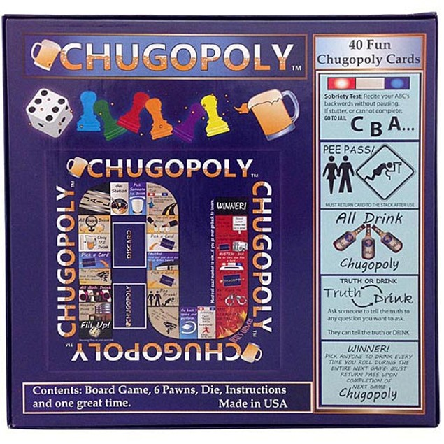 Chugopoly Game, Wine, Beer & Spirits by Island Dogs