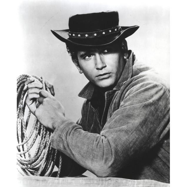 Bonanza in Cowboy Outfit Portrait Poster
