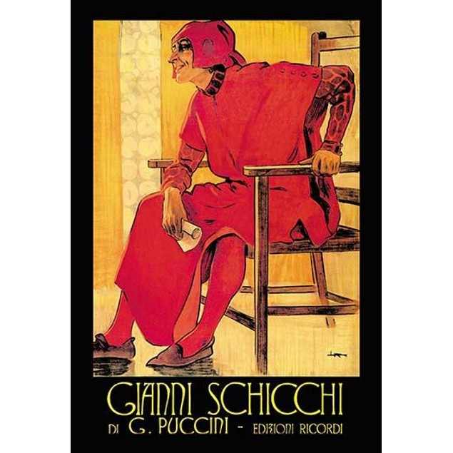 Gianni Schicchi is a comic opera in one act by Giacomo Puccini to an Italia