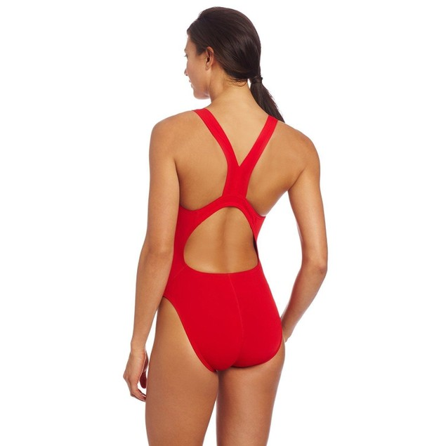 Speedo Women's Guard Super Pro Swimsuit, Red, 36