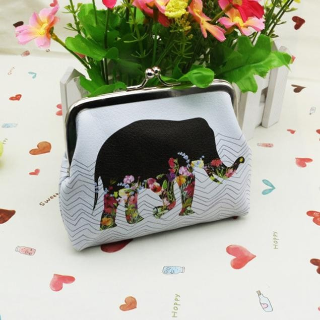 Chic Elephant Coin Purse & Card Holder