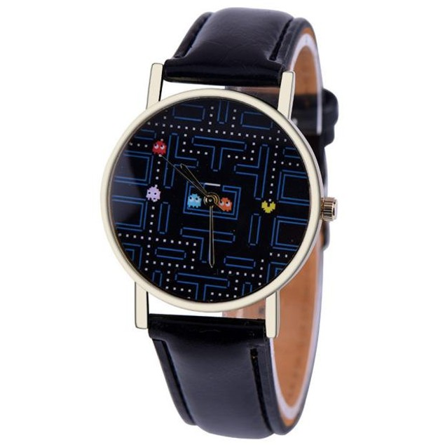 Faux Leather Band Quartz Wrist Watch - Choose Your Color