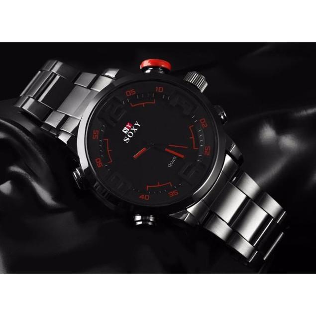 Mens Luxury Army Sport Wrist Watch Waterproof Analog Quartz Watches