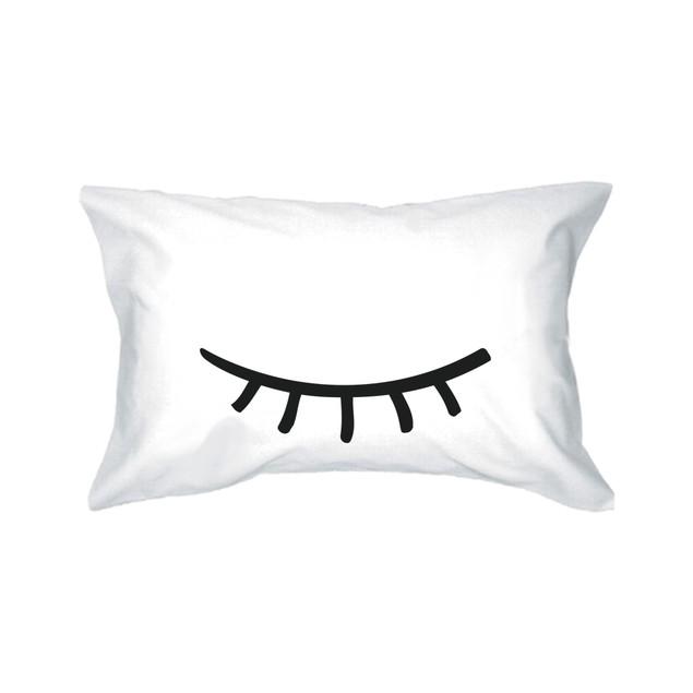 Sleeping Eyelashes Pillowcases