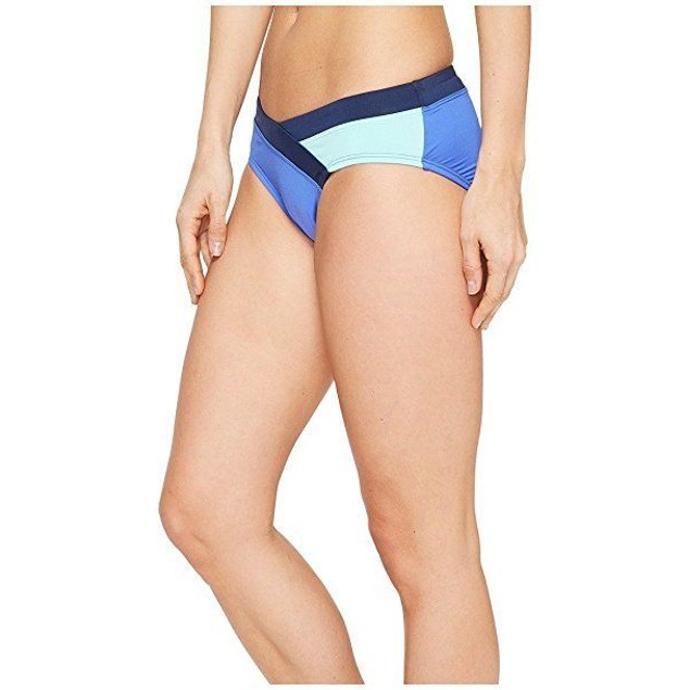 NWT Nike Women's Color Surge Swimsuit Bottom Blue SIZE X-LARGE