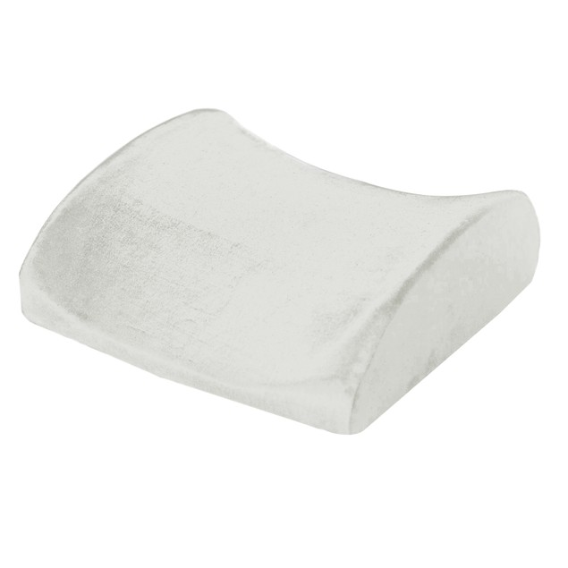 Remedy Natural Pedic Lumbar Memory Foam Support Cushion Pillow