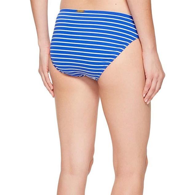 Lauren by Ralph Lauren Women's City Stripe Hipster Bottom Blue/White 4
