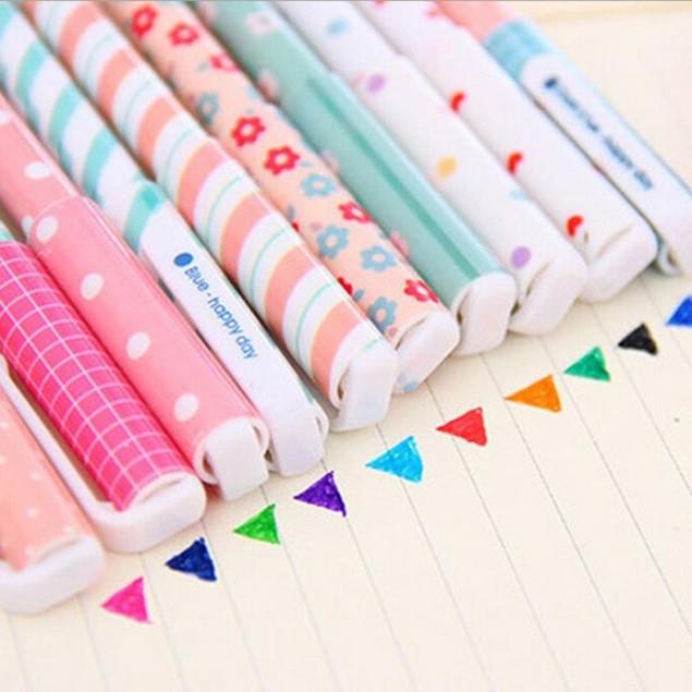 10-Piece Multi Colors Colorful Gel Ink Pens