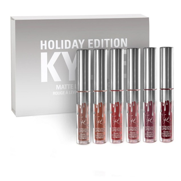 Kylie Cosmetics Holiday Mini Matte Liquid Lipsticks