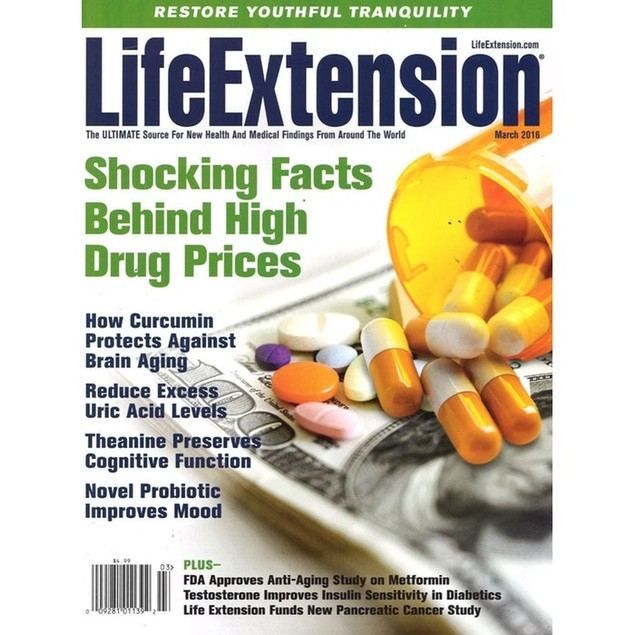 Life Extension Magazine Subscription