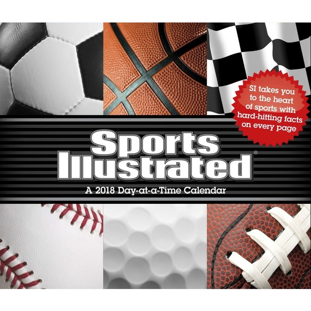 Sports Illustrated Sports Desk Calendar