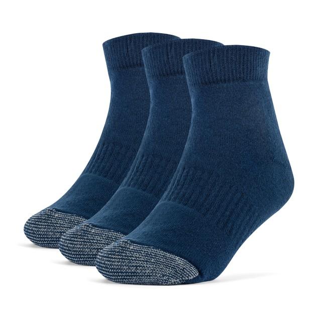 Galiva Girls' Cotton Extra Soft Ankle Cushion Socks - 3 Pairs