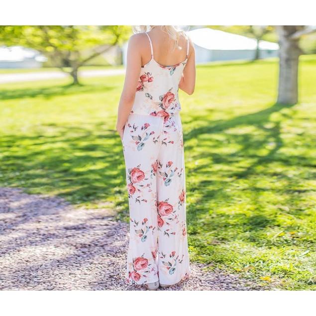 Floral Pant Romper