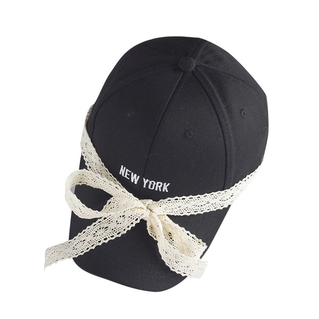 Unisex Embroidery  Letters Lace Cap Snapback Golf Ball Hip-Hop Hat b