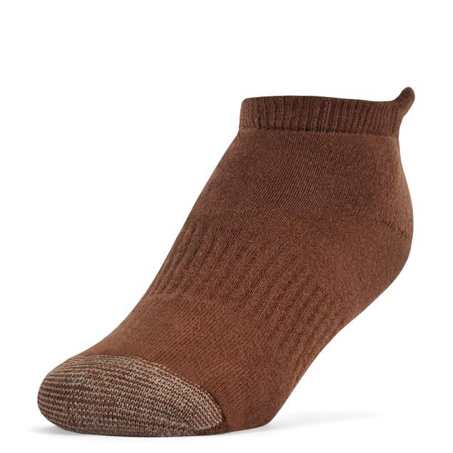 Galiva Girls' Cotton Extra Soft No Show Cushion Socks - 3 Pairs