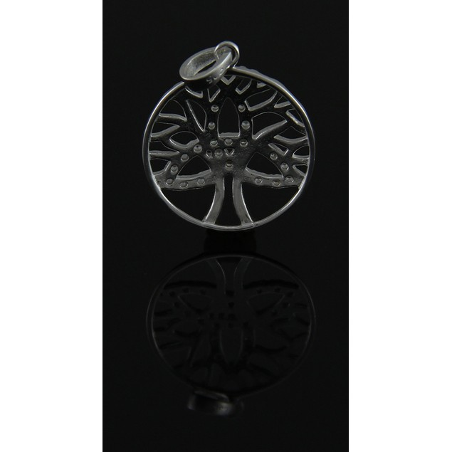 Sterling Silver Celtic Trinity Tree Of Life Individual Pendants
