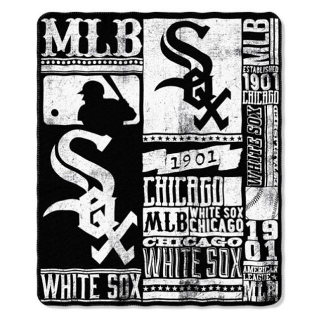 Chicago White Sox MLB Northwest Fleece Throw