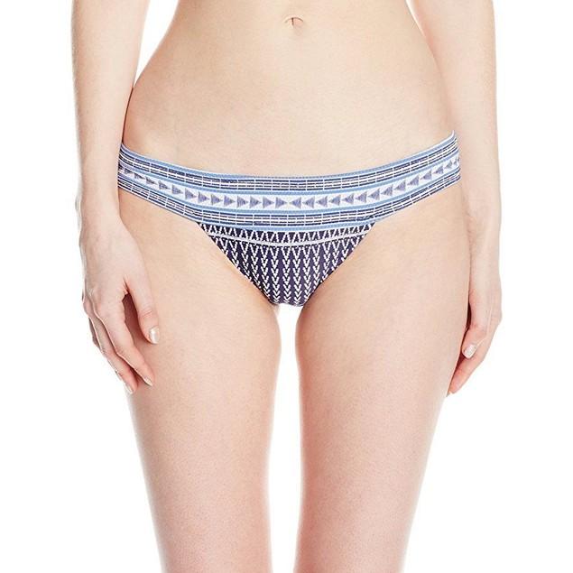 Rip Curl Women's Sundown Banded Bikini Bottom, Navy, SZ: XS