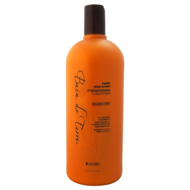 Bain de Terre Keratin Phyto-Protein Sulfate-Free Strengthening Cond.33.8oz