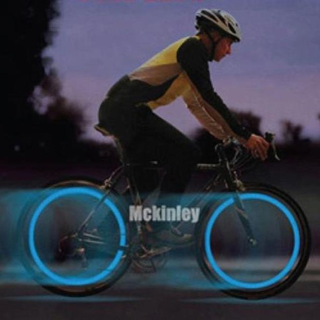Bicycle Spoke Wire Wheel LED Bright Lamp